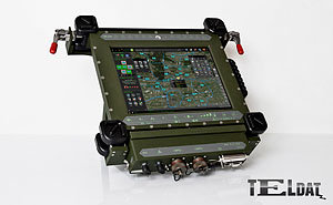 Tactical Terminal Tablet T12""