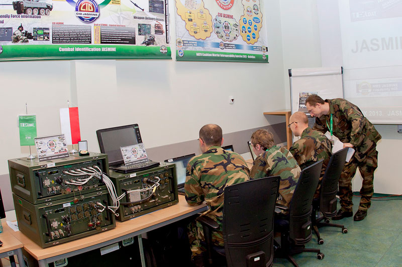 Combat IDentification Server CID JASMINE - TELDAT